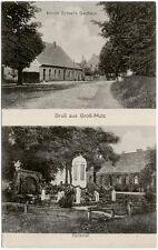 Gruß aus Groß-Mutz, s./w. Ansichtskarte gelaufen 1928