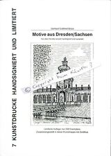 Kunstdrucke Motive ausDresden -7 Zeichnungenvon Gerhard.G.Brück