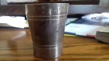 Alcoholic Spirit measurement cup,Vintage,1/6 Gill,1051,66,crown,teacup,units