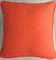 A 16 Inch cushion cover in Laura Ashley Dalton Zinnia Fabric