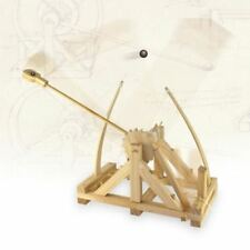 DA VINCI Catapult Model Kit & Firing Action Wooden Construction Educational Toy