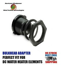 DC Water Heating Bulkhead Fitting for DC Water Heating Elements