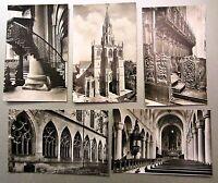 5x KONSTANZ Bodensee AK Lot Basilika U.L. Frau Postkarten Ansichtskarten ~1960