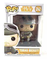 Pop Han Solo #242 Tobias Beckett Funko Pop! Star Wars Bobble Head Collectable