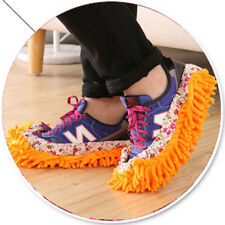 newest Creative Lazy Foot Socks Mopping Shoes Microfiber Mop Floor Cleaning