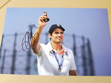 Signed Alastair Cook England Cricket 12x8 Photo - Ashes Winning Captain
