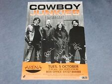 COWBOY JUNKIES SIGNED  POSTER