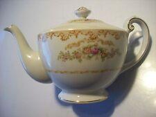 Aster Vintage Antique Teapot Coffee Pot Pitcher Serving Piece Dish Gold @ cLOSeT