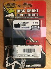 New Pair KOOL-STOP KS-D610 DISC BRAKE PAD SET for Shimano Deore Hydraulic