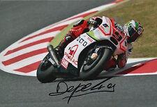 Danilo Petrucci Hand Signed Pramac Ducati 12x8 Photo 2015 MotoGP 11.