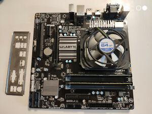 Motherboard: Gigabyte GA-78LMT-USB3 (Socket AM3+)CPU: AMD FX-6300RAM: 8GB