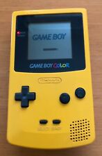 Game Boy Color Console Yellow Colour CGB-001 Gameboy UK Seller