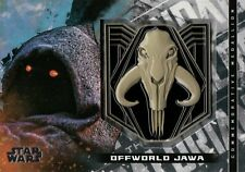 Star Wars Mandalorian Season 1, Jawa (Mudhorn) Medallion Card M-JM #13/25