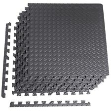 Rubber Floor Mat for Home Barbell Equipment Puzzle Gym Exercise Weight Workout