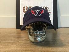 WASHINGTON CAPITALS NEW ERA HAT CAP NAVY ALT LOGO NHL STANLEY CUP CHAMPS
