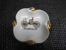 Old Vtg FORDS FIRST CAR 1896 ASHTRAY Smoking Tobacco Decor Made Japan