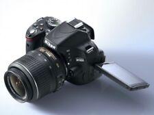 Nikon D5100 Kamera+DX AF-S Nikkor 18-55 3.5-5.6G VR Objektiv