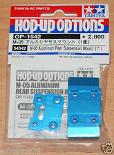 Tamiya 54542 M-05 Aluminum Rear Suspension Mount (1°) (M05/M05 Pro/M05Ra) NIP