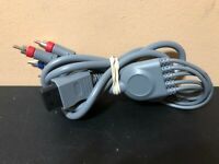 Nintendo Wii Unbranded HD High Quality Component Cable HD AV Cord