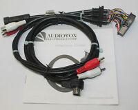 Audiovox Car Stereo Interface Cable Connection Wire Kit for Auto Audio System