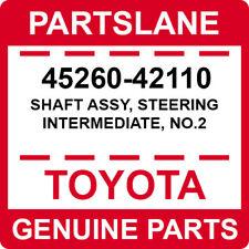 45260-42110 Toyota OEM Genuine SHAFT ASSY, STEERING INTERMEDIATE, NO.2