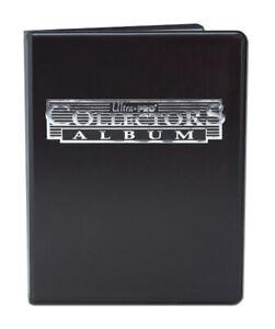 Ultra Pro Portfolio A5 - 4 Pocket Folder Trading Cards NBA NFL Pokemon (Black)