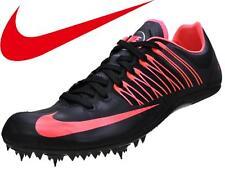 Mens-11.5 Womans-13 Unisex Nike Zoom Celar 5 Track & Field Shoe-Black/Atomic Red