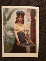 The Harem Servant - Paul-Desire Trouillebert - Large Vintage Postcard