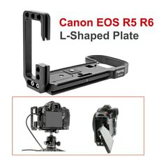 PEIPRO quick Release L-plate bracket camera Hand Grip For Canon EOS R5/R6 camera