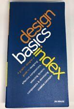 Design Basics Index: A Graphic Designer's Guide to Designing Effective Compositi