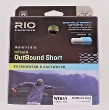 Rio OutBound Short Intermediate Tip WF8F/I Fly Line Free Fast Shipping 6-21309