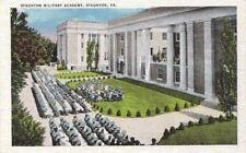 Postcard Staunton Military Academy Staunton VA