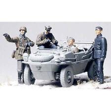 TAMIYA 35253 4 Recon figures for Schwimwagon 1:35 Military Model Kit
