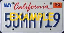 HO 1:87 MONSTER LICENSE PLATES -MODERN 1994+ CALIFORNIA MODEL VEHICLE CARS TRUCK