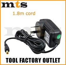 Power Supply Plug Pack For Makita 240v Jobsite Radio Bmr102 Bmr100 1.8m Lead