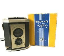 VINTAGE KODAK BROWNIE REFLEX CAMERA Synchro Model  With Original Factory Box