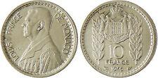 MONACO   ,  LOUIS  II  ,  10  FRANCS  1946  ,  SUPERBE