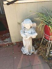 New listing Angel Playing Guitar Indoor Outdoor Garden Statue Yard Decor