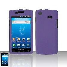 Rubber Dr Purple Hard Case Cover Samsung Captivate i897