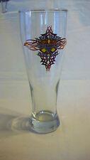 HARLEY DAVIDSON CAFE LAS VEGAS BEER PILSNER GLASS, LIVE HARD RIDE EASY