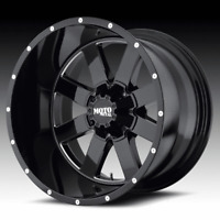 Moto Metal MO962 Black Milled 20x12 5x5 / 5x5.5 -44mm (MO96221235344N)