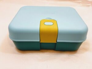 Thermos Kids' Freestyle Kit - Teal and Green, 8-Piece Bento Style Kid Lunch Box