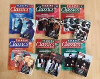 6 x Talking Classics Audio Cassettes & Magazines, Moby Dick, Les Miserables