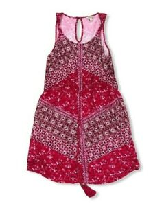 Lucky Brand Women's Large Bandana Print Dress