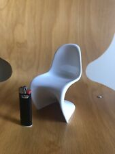 Vitra Design Chair Panton Verner Miniatura Miniature  Mini Bianco White