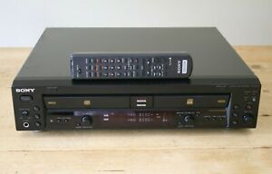 Sony RCD-W100 CD Recorder / Player - Double-Drive
