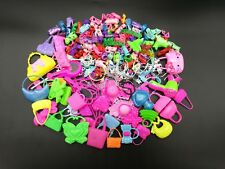 40pcs/Lot Fashion Shoe Bag Jewelry Crown Hanger Accessories for Barbie Doll Gift