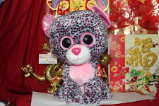 Ty Beanie Boos Jumbo Tasha The Leopard.Justice Exclusive.2015.Mwnmt.Nice Gift
