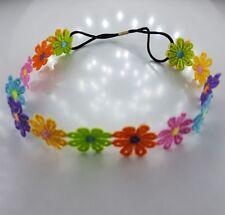 Mädchen Kinder Haarband Bunt Blume niedlich elastischen Baby Dekoration Blitzver