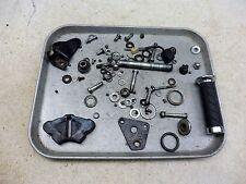 1976 Kawasaki KZ400 K560. misc bike bolts and parts